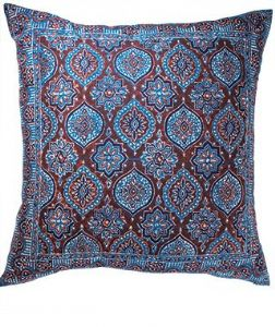 Cushion Cover~ Hippy Bohemian Blue and Red Azrak Cushion Cover~ By Folio Gothic Hippy CCL3